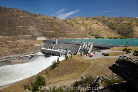 Central-Otago;Clyde;Clyde-Power-Station;Lake-Dunstan;N.Z.;New-Zealand;NZ;overflow;S.I.;SI;South-Is.;South-Island;spray