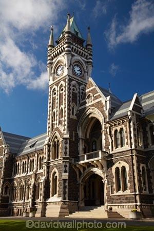 clock tower registry building university of otago