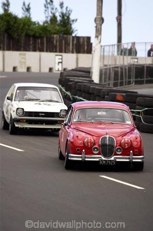 Mkii Jaguar And Toyota Starlet Classic Street Racing Dunedin