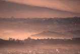 hill;hills;rolling;mist;haze;Dunedin;Otago;Peninsula;morning;houses;antenna;Otago-Peninsula;cloudy;cloud;clouds