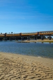 bridge;bridges;carriage;carriages;Dunedin;excursion-train;N.Z.;New-Zealand;NZ;Otago;Passenger-Train;passenger-trains;rail;rail-bridge;rail-bridges;rail-line;rail-lines;rail-track;rail-tracks;railroad;railroads;rails;railway;railway-line;railway-lines;railway-track;railway-tracks;railways;ripple;ripples;S.I.;sand;Seasider-Train;SI;South-Is;South-Is.;South-Island;Sth-Is;Taieri-Gorge-Seasider-Train;Taieri-Gorge-Seasider-Train;tourism;tourist-attraction;tourist-attractions;tourist-train;tourist-trains;track;tracks;train;train-bridge;train-bridges;train-track;train-tracks;trains;transport;transportation;travel;water;wooden-bridge;wooden-bridges;wooden-rail-bridge;wooden-rail-bridges