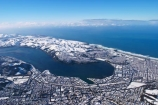 aerial;aerials;cbd;cold;Dunedin;freezing;harbour-basin;icy;New-Zealand;ocean;otago-harbor;otago-harbour;otago-peninsula;pacific-ocean;sea;season;seasonal;seasons;snow;snowy;south-dunedin;South-Island;st-kilda-beach;winter