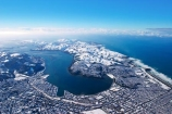 aerial;aerials;cbd;cold;Dunedin;freezing;harbour-basin;icy;New-Zealand;ocean;otago-harbor;otago-harbour;otago-peninsula;pacific-ocean;sea;season;seasonal;seasons;snow;snowy;south-dunedin;South-Island;st-kilda-beach;winter