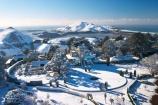 aerial;aerials;building;buildings;castle;castles;cold;Dunedin;fountain;fountains;freezing;harbor-cone;harbour-cone;historic;historical;history;hooper-inlet;hoopers-inlet;hoopers-inlet;Larnach-Castle;larnachs-castle;larnachs-castle;manor;mount-charles;mt-charles;mt.-charles;New-Zealand;old;otago-peninslar;Otago-Peninsula;pacific-ocean;pond;ponds;sea;season;seasonal;seasons;snow;snowy;South-Island;white;winter
