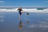 ball;balls;beach;beaches;boy;boys;brother;brothers;calm;child;children;coast;coastal;coastline;coastlines;coasts;Dunedin;football;game;games;kick;kicking;kicks;kid;kids;Kuri-Bush;little-boy;little-boys;N.Z.;New-Zealand;NZ;ocean;oceans;Otago;Pacific-Ocean;placid;play;playing;quiet;reflection;reflections;S.I;sand;sandy;sea;seas;serene;shore;shoreline;shorelines;shores;SI;smooth;soccer;South-Is.;South-island;sport;sports;still;surf;tranquil;water;wave;waves