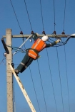 amp;amps;current;danger;dangerous;electric;electrical;electrician;electricians;electricity;energy;hard-hat;hard-hats;hardhat;hardhats;helmet;high-high-up;industrial;industry;ladder;ladders;lineman;linemen;Linesman;linesmen;pole;poles;post;posts;power;power-line;power-lines;power-pole;power-poles;power-wire;Power-Wires;safety;shock;skilled-worker;volt;voltage;volts;work;worker;workers;working