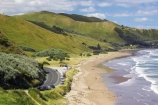 beach;beaches;coast;coastal;coastline;Eastland;Gisborne;Makorori-Beach;new-zealand;north-is.;north-island;ocean;oceans;sand;sandy;sea;shore;shoreline;surf;wave;waves;whangara-road