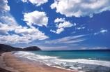 beach;beaches;coast;coastal;coastline;shoreline;shore;waves;sea;ocean;pacific;wave;dune;dunes;sand;aerials;sandy;surf;clouds;sky