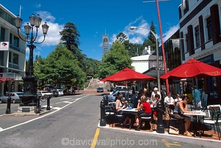 Cafe;cafes;restaurant;restaurants;outdoor;outdoors;outside;Trafalgar-Street;st;Cathedral;cathedrals;Nelson;dine;eat;dining;street;road;roadside;al-fresco