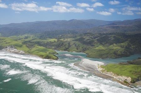 aerial;aerial-photo;aerial-photograph;aerial-photographs;aerial-photography;aerial-photos;aerial-view;aerial-views;aerials;Anaweka-River-Mouth;beach;beaches;coast;coastal;coastline;coastlines;coasts;estuaries;estuary;inlet;inlets;lagoon;lagoons;N.Z.;Nelson-Region;New-Zealand;North-West-Coast;North-West-Nelson-Forest-Park;Northern-West-Coast;NZ;ocean;oceans;S.I.;sand;sandy;sea;seas;shore;shoreline;shorelines;shores;SI;South-Is.;South-Island;surf;Tasman-Sea;tidal;tide;water;wave;waves