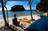 beach;beaches;bush;camp;camping;campsite;coast;coast-line;coastal;coastline;estuaries;estuary;forest;forestry;forests;inlet;inlets;island;islands;kayak;kayaking;kayaks;lagoon;lagoons;peace;peaceful;peacefulness;people;person;sand;sea;shore;shore-line;shoreline;tent;tents;tranquil;tranquility;water