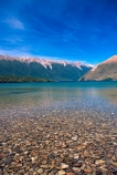 lake;lakes;mountain;mountains;clear-water;clear-sky;blue-sky;beach;beaches;Lake-Rotoiti;Nelson-Lakes-National-Park;nelson-lakes;national-park;national-parks;forest;forests;clear;clean;water;south-island;pure;natural;fresh;stones;stone;stoney;gravel;gravelly;transparent;untouched