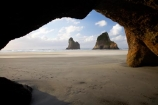 Archway-Is;Archway-Is.;Archway-Island;Archway-Islands;beach;beaches;cave;cavern;caverns;caves;coast;coastal;coastline;geological;geology;grotto;grottos;N.Z.;Nelson-Region;New-Zealand;North-West-Nelson-Region;NZ;rock;rock-formation;rock-formations;rock-outcrop;rock-outcrops;rock-tor;rock-torr;rock-torrs;rock-tors;rocks;S.I.;sand;sandy;scenic;sea-cave;sea-caves;shore;shoreline;SI;South-Is.;South-Island;stone;Tasman-Sea;Wharariki-Beach