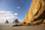 Archway-Is;Archway-Is.;Archway-Island;Archway-Islands;beach;beaches;coast;coastal;coastline;geological;geology;N.Z.;Nelson-Region;New-Zealand;North-West-Nelson-Region;NZ;rock;rock-formation;rock-formations;rock-outcrop;rock-outcrops;rock-tor;rock-torr;rock-torrs;rock-tors;rocks;S.I.;sand;sandy;shore;shoreline;SI;South-Is.;South-Island;stone;Wharariki-Beach