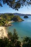 beach;beaches;Breaker-Bay;calm;coast;coastal;coastline;Honeymoon-Bay;idyllic;Kaiteriteri;N.Z.;Nelson-Region;New-Zealand;Ngaio-Is;Ngaio-Is.;Ngaio-Island;NZ;ocean;oceans;S.I.;sand;sandy;sea;seas;serene;shore;shoreline;SI;South-Is.;South-Island;Tasman-Bay