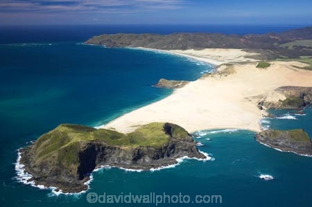 aerial;aerials;beach;beaches;blue;Cape-Maria-van-Diemen;Cape-Reinga;coast;coastal;coastline;Far-North;new-zealand;north-is.;north-island;northland;ocean;sand;sandy;scenic;sea;shore;shoreline;tasman-sea;water;waterside;waves