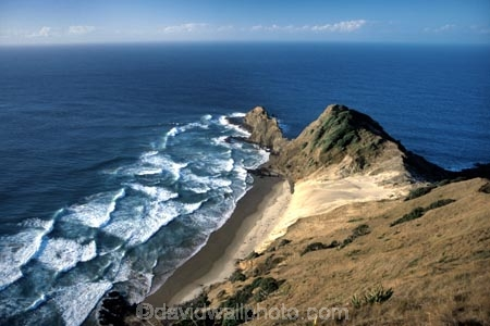 beach;beaches;direction;directions;join;meet;meeting;meets;most;north;northern;ocean;pacific;promontory;sacred;sea;spirit;spirits;tasman
