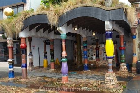 Famous Hundertwasser Toilets Kawakawa Bay Of Islands