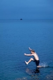 boy;boys;child;children;coast;coastal;coastline;coastlines;coasts;Doubtless-Bay;dusk;evening;foreshore;fun;jump;jumping;Karikari-Peninsula;kid;kids;little-boy;little-boys;N.I.;N.Z.;New-Zealand;NI;night;night-time;North-Is;North-Is.;North-Island;Northland;NZ;ocean;Parakerake-Bay;play;playing;sea;shore;shoreline;shorelines;shores;twilight;water;Whatuwhiwhi