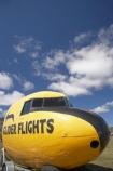 Glider-Flights-Sign;N.Z.;New-Zealand;North-Otago;NZ;Omarama;Otago;plane;planes;S.I.;SI;sign;signs;South-Is.;South-Island;vintage-plane;vintage-planes;Waitaki-District;Waitaki-Region;Waitaki-Valley;yellow