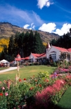 holiday;holidays;vacation;vacations;queenstown;lake-wakatipu;wakatipu;new-zealand;scene;scenes;tourism;farm-house;farmsted;ranch;walter-peak-station;walter-peak;flowers;pink;flower;restaurant;restaurants;cafe;cafes