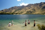hot;lake;lakes;Moke-Lake;Moonlight-Track;N.Z.;New-Zealand;NZ;Otago;play;playing;Queenstown;S.I.;SI;South-Is.;South-Island;Southern-Lakes;Southern-Lakes-District;Southern-Lakes-Region;summer;swim;swimmers;swimming