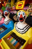 amusement;amusement-park;amusement-parks;amusements;ball-game;Bay-of-Plenty;Bay-of-Plenty-District;bright;chance;clown;clown-face;clown-faces;clown-head;clown-heads;clowns-face;clowns-head;clowns;clowns-face;clowns-head;color;colored;colors;colour;coloured;colours;entertainment;face;faces;fair;fairground;fairground-attraction;fairgrounds;fairs;fun;funfair;funfairs;gamble;gambling;game;game-of-chance;games;games-of-chance;laughing-clown;laughing-clowns;mouth;mouths;N.I.;N.Z.;New-Zealand;NI;North-Island;NZ;open-mouth;open-mouths;Rotorua;side-show;side-shows;side_show;side_shows;sideshow;sideshows;stall;stalls;yellow