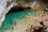 cave;caves;clear;green;holiday;holidaying;holidays;jade;N.I.;N.Z.;New-Zealand;NI;North-Island;NZ;pool;pools;Ruatapu-Cave;spring;subterranean;tourism;travel;traveling;travelling;underground;vacation;vacationing;vacations;water