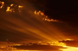 cloud;clouds;dusk;evening;light-rays;Mossburn;N.Z.;New-Zealand;nightfall;NZ;orange;S.I.;SI;sky;South-Is;South-Island;Southland;Sth-Is;sun-rays;sunset;sunsets;twilight