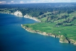 aerial;aerials;bluff;bluffs;cliff;coast;coastline;farm;farmland;farms;ocean-tasman;sea;shore;shoreline