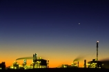 chimneys;color;colors;colour;colours;dusk;energy;factories;factory;flame;fuel;gas;industrial;industry;natural;orange;petrol;petroleum;pollution;smoke-stack;twilight,chimney
