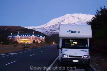 Nz North Island Driving Tour Winter