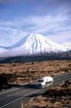BOC;cone;highway;ice;lorry;mountain;peak;road;snow;tanker;traffic;transport;truck;volcanic;volcano