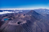 Mounts-Tongariro;-Ngauruhoe;-Ruapehu;-Tongariro;-National;-Park;-Central-Plateau;-North-Island;-New-Zealand;-summit;-crater;-volcano