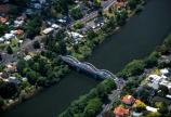 aerials;beach;beaches;bridge;bridges;curve;curves;house;houses;residential;rivers;town