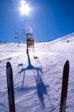 chair-lift;holiday;lift;ride;sitting;ski;skier;skiers;skiing;skis;transport;transportation