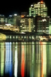capital;government;harbor;harbour;waterfront;port;nicholson;skyline;sky-scrapers;offices;blocks;highrise;cbd;central;business;district;water;marina;night;reflections;reflection;lights