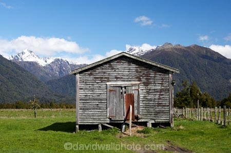 agricultural;agriculture;barn;barns;country;countryside;cowshed;cowsheds;crop;crops;farm;farm-building;farm-buildings;farming;farmland;farms;field;fields;Fox-Glacier;hay-shed;hay-sheds;hayshed;haysheds;horticulture;meadow;meadows;New-Zealand;old-building;old-buildings;paddock;paddocks;pasture;pastures;rural;shed;sheds;South-Island;stable;stables;West-Coast;westland;wooden-building;wooden-buildings;wool-shed;wool-sheds;woolshed