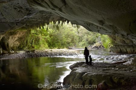 cave;cavern;caverns;caves;child;grotto;grottos;hike;hiker;hikers;hiking;Kahurangi-National-Park;Karamea;limestone;limestone-formation;limestone-formations;Moira-Gate-Arch;mother;national-park;national-parks;New-Zealand;Oparara-Basin;Oparara-River;people;person;South-Island;speleology;spelunk;spelunking;stalactite;stalactites;underground;underground-cavern;underground-caverns;walker;walkers;walking;West-Coast;Westland