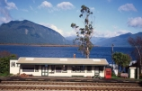 lakes;platform;rail;railway;railway-station;scenic;station;telephone-box;tourism;tourist;trans-alpine;trans_alpine;transalpine
