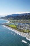 aerial;aerial-photo;aerial-photograph;aerial-photographs;aerial-photography;aerial-photos;aerial-view;aerial-views;aerials;beach;beaches;Blaketown;coast;coastal;coastline;coastlines;coasts;Cobden-Hill;Grey-River;Grey-River-Bar;Grey-River-Mouth;Greymouth;Greymouth-Bar;Greymouth-Harbour-Bar;Mawheranui;N.Z.;New-Zealand;NZ;ocean;oceans;Rapahoe-Range;S.I.;sand;sandy;sea;seas;shore;shoreline;shorelines;shores;SI;South-Island;surf;Tasman-Sea;Twelve-Apostles-Range;water;wave;waves;West-Coast;Westland