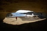 beach;beaches;Buller-District;Buller-Region;cave;cavern;caverns;caves;coast;coastal;coastal-errosion;coastline;coastlines;coasts;errosion;female;foreshore;geological;geology;limestone;N.Z.;New-Zealand;NZ;ocean;Paparoa-N.P.;Paparoa-National-Park;Paparoa-NP;people;person;Punakaiki;rock-formation;rock-formations;Rock-Overhang;S.I.;sea;shore;shoreline;shorelines;shores;SI;South-Is;South-Island;stone;Tasman-Sea;Te-Miko;Truman-Bay;Truman-Beach;Truman-Track;Truman-Track-Bay;Truman-Track-Beach;water;West-Coast;Westland;woman