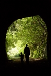 Disused-Rail-Tunnel;mother-and-child;new-zealand;Seddonville;south-island;track;tracks;tunnel;tunnels;walker;walkers;walking-track;walking-tracks;West-Coast;westland