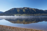 calm;fog;foggy;fogs;lake;Lake-Kaniere;lakes;mist;mists;misty;N.Z.;New-Zealand;NZ;placid;quiet;reflection;reflections;S.I.;serene;SI;smooth;South-Is.;South-Island;still;Sunny-Bight;tranquil;water;Wesl-Coast;Westland