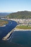 aerial;aerial-photo;aerial-photograph;aerial-photographs;aerial-photography;aerial-photos;aerial-view;aerial-views;aerials;beach;beaches;Blaketown;coast;coastal;coastline;coastlines;coasts;Cobden-Island;Grey-River;Grey-River-Bar;Grey-River-Mouth;Greymouth;Greymouth-Bar;Greymouth-Harbour-Bar;Mawheranui;N.Z.;New-Zealand;NZ;ocean;oceans;Peter-Ridge;river;rivers;S.I.;sand;sandy;sea;seas;shore;shoreline;shorelines;shores;SI;South-Island;surf;Tasman-Sea;water;wave;waves;West-Coast;Westland