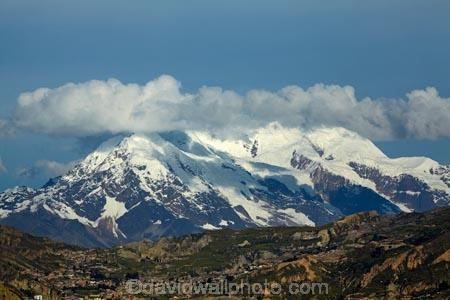 Illimani 6438m 21 122ft La Paz Bolivia South America
