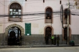 Bolivia;building;buildings;capital;Capital-of-Bolivia;cell-block;cell-blocks;Chuqi-Yapu;door;El-penal-de-San-Pedro;front-door;front-entrance;front-entrances;gaol;gaols;guard;guards;heritage;historic;historic-building;historic-buildings;historical;historical-building;historical-buildings;history;imprison;imprisoned;infamous;jail;jailhouse;jails;La-Paz;Latin-America;Nuestra-Señora-de-La-Paz;old;penitentiaries;penitentiary;police;policeman;policemen;prison;prison-cell;prison-cells;prisons;Saint-Peters-Prison;San-Pedro;San-Pedro-Gaol;San-Pedro-Jail;San-Pedro-Prison;South-America;Sth-America;The-Americas;tradition;traditional