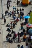 Bolivia;Bolivian;Bolivians;capital;Capital-of-Bolivia;Chuqi-Yapu;cities;city;crowd;crowds;La-Paz;Latin-America;Nuestra-Señora-de-La-Paz;people;person;Plaza-Mayor;shoe-shiner;shoe-shiners;South-America;square;Sth-America;The-Americas