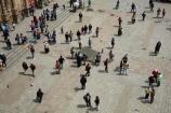 Bolivia;Bolivian;Bolivians;capital;Capital-of-Bolivia;Chuqi-Yapu;cities;city;crowd;crowds;La-Paz;Latin-America;Nuestra-Señora-de-La-Paz;people;person;Plaza-Mayor;South-America;square;Sth-America;The-Americas