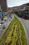 Av-Perez-Velasco;Avenida-Mariscal-Santa-Cruz;Avenida-Perez-Velasco;Bolivia;capital;Capital-of-Bolivia;Chuqi-Yapu;cities;city;garden;gardens;grass;grass-median-strip;green;La-Paz;landscaped;landscaping;Latin-America;median-strip;Nuestra-Señora-de-La-Paz;South-America;Sth-America;The-Americas;traffic-island